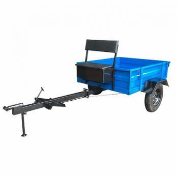 Телега  300 кг МБ ТПМ 1-121 1-мест (разъемное дышло, тормоз колеса 4*10)