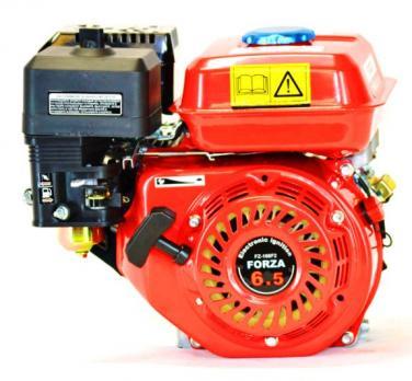Двигатель  6,5л.с. 168F бенз. Форза шкив 20мм под шпонку МБ