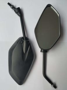 Зеркала Stels d=8мм черные ромб  л/п резьба
