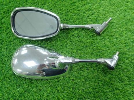 Зеркала капля хром d10 (012/001/1014) усил. стойка