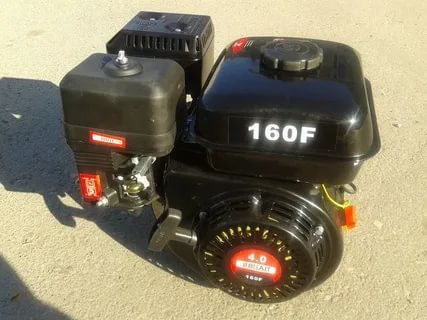 Двигатель  4,0л.с. 160F бенз. Брайт  шкив 20мм   МБ