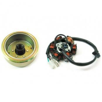 Генератор  125/150 куб.  6 катушек (фишка 3+2) 4т.Скутер