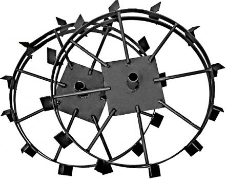 Грунтозацепы 680х130 круг d30 Салют(пара) МБ