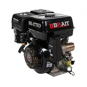 Двигатель  9,0л.с. 177F  бенз.Брайт  (вал под шлицы электр.,запуск)